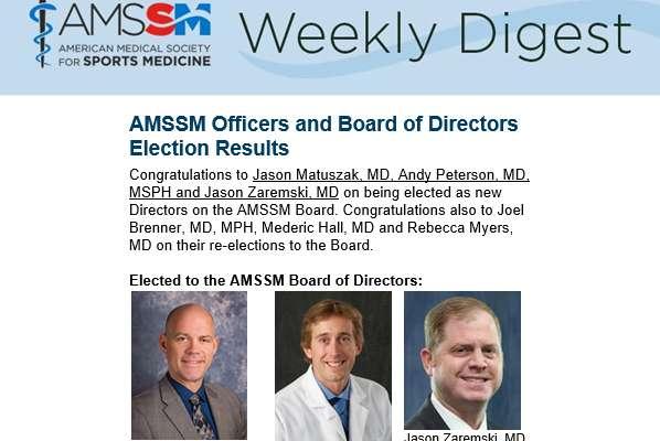 AMSSM 2019 Photo of Dr. Zaremski
