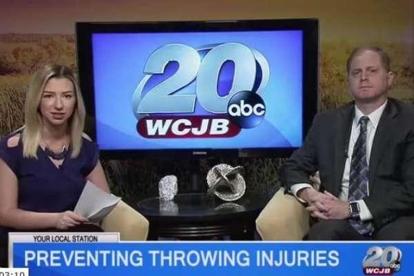 Dr. Zaremski Preventing Throwing Injuries-WCJB