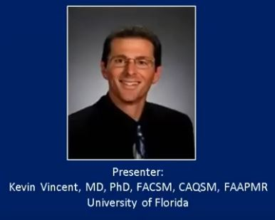 AMSSM Fellow Online Lecture by Dr. Vincent