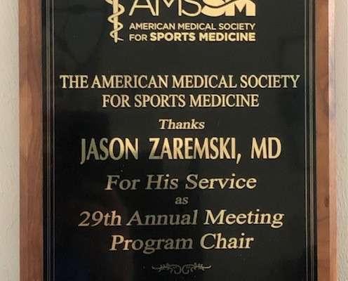 AMSSM-Dr. Zaremski Award