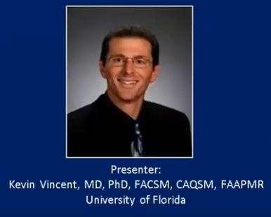 AMSSM Fellow Online Lecture by Dr. Vincent