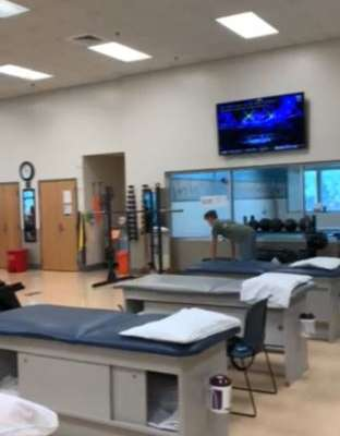 OSMI PT Rehab Gym Area